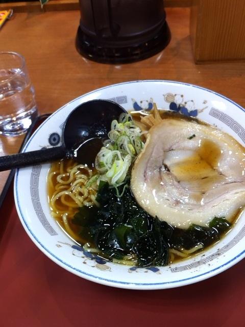 山田うどんのラーメンの画像